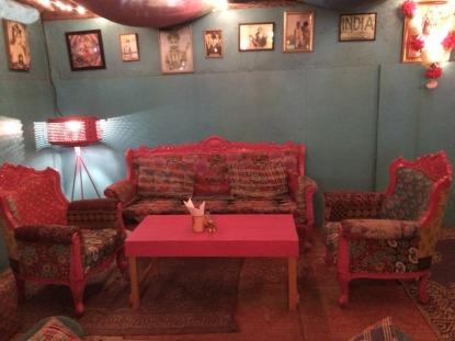 Pink chilli seats