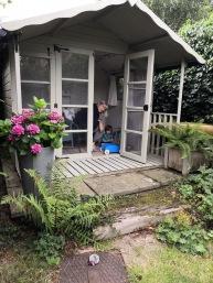 Ellis at home